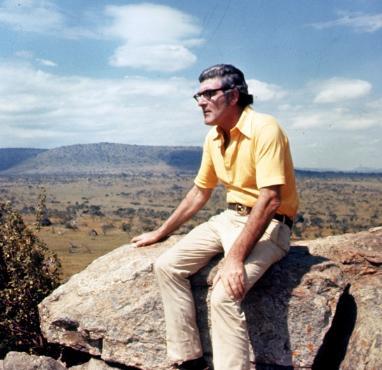Bill Mulvihill in Africa in the 1970's
